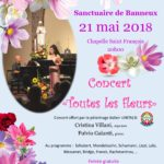 """Concert """"Toutes les fleurs"""" 21 Mei om 20 Uur"""