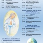 Anniversary of the Apparitions 2019