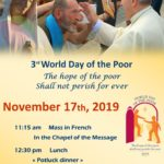 3rd World Day of the Poor