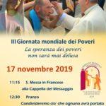 III Giornata dei Poveri